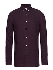 Double layer checked shirt - GOTS/V - FIG