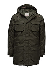 Heavy Parka Jacket - GRS - FORREST NIGHT