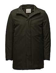 Long Soft Shell Bounded Jacket - GR - FORREST NIGHT
