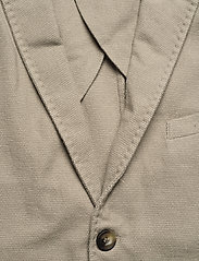 Knowledge Cotton Apparel - Structured blazer - single breasted blazers - feather gray - 2
