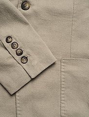 Knowledge Cotton Apparel - Structured blazer - single breasted blazers - feather gray - 3
