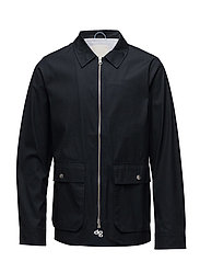 Waxed jacket with big pockets - TOTAL ECLIPSE