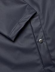 Knowledge Cotton Apparel - Long rain jacket /Vegan - sadetakit - total eclipse - 5