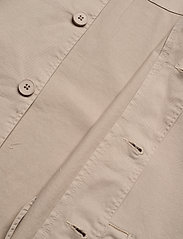 Knowledge Cotton Apparel - PINE poplin overshirt - GOTS/Vegan - vêtements - light feather gray - 4