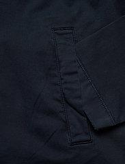 Knowledge Cotton Apparel - PINE poplin overshirt - GOTS/Vegan - vêtements - total eclipse - 3