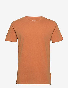 ALDER basic tee - GOTS/Vegan - basic t-shirts - abricut melange