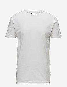 ALDER basic tee - GOTS/Vegan - short-sleeved t-shirts - bright white