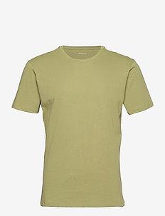 ALDER basic tee - GOTS/Vegan - t-shirts - sage (light usty green)