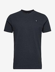 ALDER owl badge t-shirt - GOTS/Vega - perus t-paidat - total eclipse