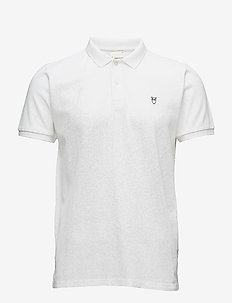 Pique Polo -  GOTS/Vegan - kortermede - bright white