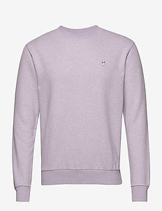 ELM small owl sweat - GOTS/Vegan - basic sweatshirts - lavender melange