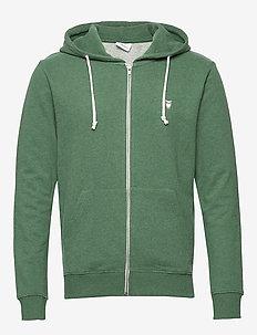 Basic Hood Sweat - GOTS/Vegan - hoodies - black forrest melange