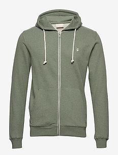 Basic Hood Sweat - GOTS/Vegan - hoodies - gren melange