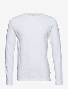 Cotton, slope sweat - GOTS - perus t-paidat - bright white