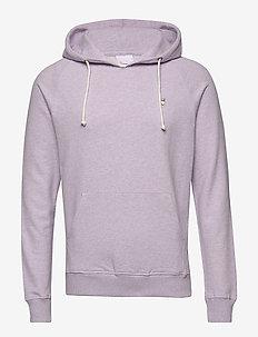 ELM small owl hoodie sweat - GOTS/V - basic-sweatshirts - lavender melange
