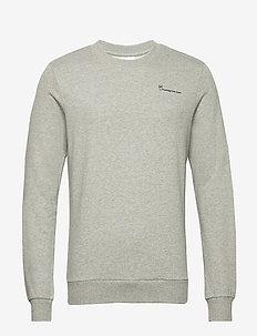 ELM knowledgecotton sweat - GOTS/Ve - sweatshirts - grey melange
