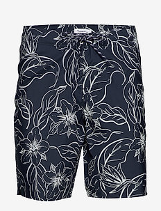 SEA flower swimshorts - swim shorts - total eclipse