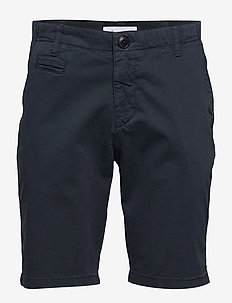 CHUCK regular chino shorts - GOTS/V - chinos - total eclipse