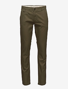 Twisted Twill Chions''32 - chino's - burned olive