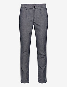 Chuck Twill pleated pant - GOTS/Veg - casual broeken - total eclipse