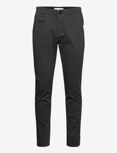 JOE slim stretched chino pant - GOT - pantalons chino - black jet