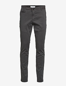 JOE slim chino pant - GOTS/Vegan - pantalons chino - phantom