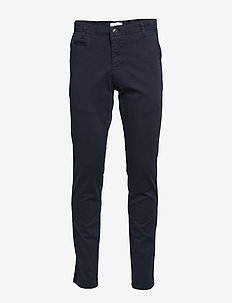 JOE slim chino pant - GOTS/Vegan - pantalons chino - total eclipse