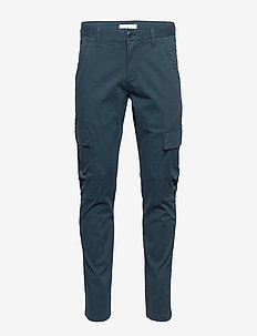 JOE trekking pant - GOTS/Vegan - bojówki - total eclipse