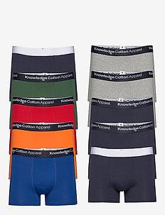 MAPLE 10 pack underwear - GOTS/Vega - sous-vêtements - scarlet