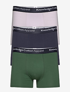 MAPLE 3 pack underwear - GOTS/Vegan - underwear - pineneedle