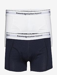 Underwear 2 pack - GOTS/Vegan - BRIGHT WHITE