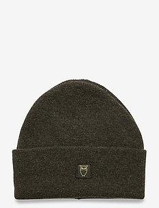 LEAF organic wool beanie - bonnet - forrest night