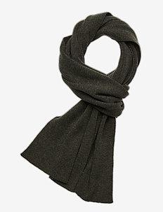 JUNIPER organic wool scarf - GOTS - skjerf - forrest night