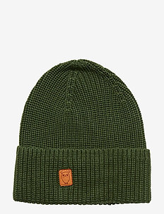 Ribbing hat - GOTS/Vegan - GREEN FOREST