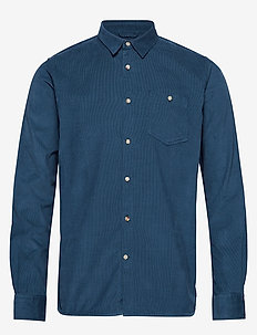 Baby Cord Shirt - casual shirts - dark denim