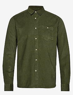 Baby Cord Shirt - casual shirts - green forest