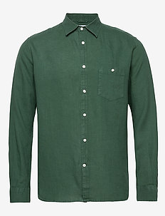 LARCH LS shirt - chemises de lin - pineneedle