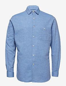 LARCH LS shirt - STRONG BLUE