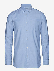 ELDER LS oxford shirt - GOTS/Vegan - basic shirts - lapis blue