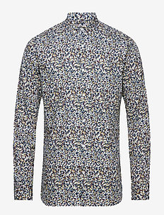 Flower printed shirt - PALE MAUVE