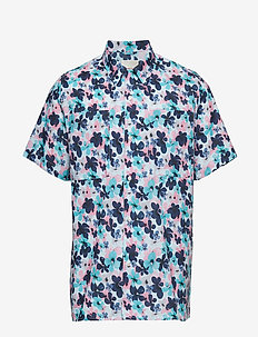 Multi col. flower printed SS shirt/ - short-sleeved shirts - skyway
