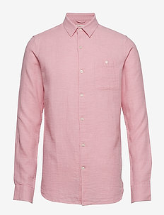 Double layer shirt - GOTS - peruspaitoja - pink nectar
