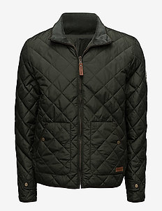 PET Light Jacket Reversible - GRS/V - quilted jackets - forrest night