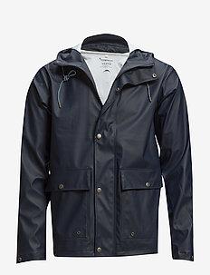 LAKE short rain jacket - regenbekleidung - total eclipse