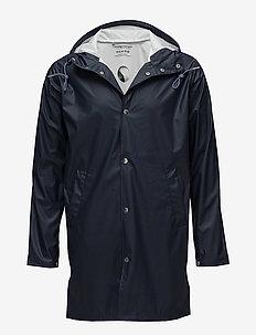 Long Rain Jacket - TOTAL ECLIPSE
