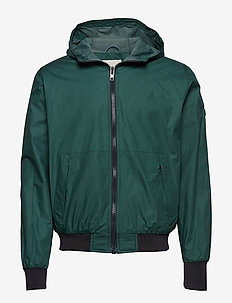 BASSWOOD hood jacket - coupe-vent - bistro green