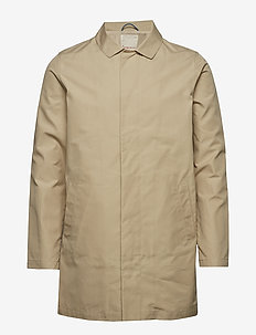Funtional carcoat jacket - GOTS/Veg - vindjakker - light feather gray