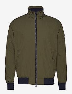 Nylon jacket - GRS - bomber jackets - forrest night