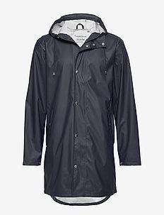 Long rain jacket /Vegan - płaszcze przeciwdeszczowe - total eclipse