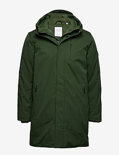 Climate shell jacket - GRS/Vegan - parkas - green forest